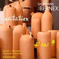 Les Journées Bernex les 1 et 2 décembre 2018 à Aubagne (13) - Céramique culinaire design