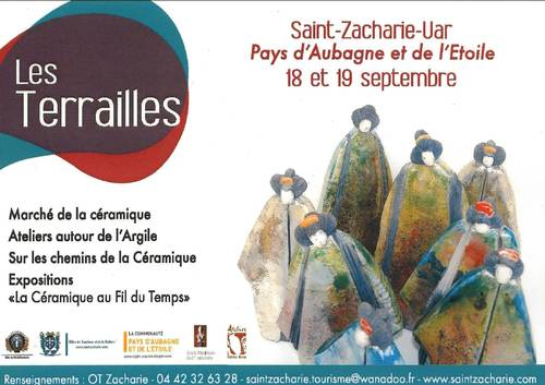 18 et 19 septembre 2010 | Marché de la céramique à Saint-Zacharie