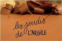 Les Jeudis de l'Argile, le 21 mars 2019, Forum échanges et rencontres entre céramistes et potiers