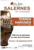 Exposition Maison de la céramique Architecturale Terra Rossa de Salernes (var) jusqu'au 30 septembre 2019, terres varoises
