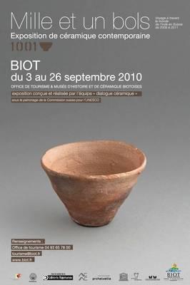 3 au 26 sept. 2010 | Exposition Mille et un bols à Biot (06)