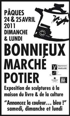 24 et 25 avril 2011 | Marché potier de Bonnieux