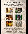 Du 19 au 26 mars 2011 | Exposition céramique à Caromb (84)