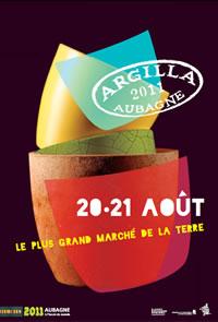 20 et 21 août 2011   Argilla : marché potiers, expositions, animations,... à Aubagne (13)