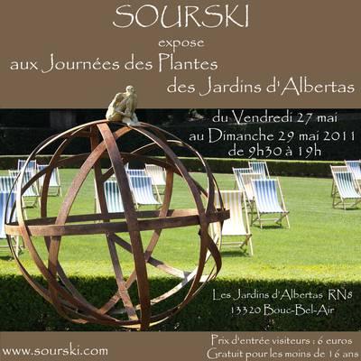 Du 27 au 29 mai 2011 | Sourski expose ses sculptures à Bouc Bel Air (13)
