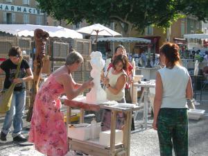 10 juillet 2011 | Marché potiers à Vaison la Romaine (84)