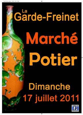 17 juillet 2011 | Marché potier de La Garde Freinet (83)