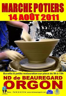 14 août 2011 | Marché potiers à Orgon (13)