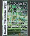 14 août 2011 | 30ème fête de la céramique à Varages (83)
