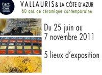 25 juin au 7 nov. 2011 | Exposition 60 ans de céramique contemporaine à Vallauris