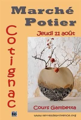 11 août 2011 | Marché potier de Cotignac (83)