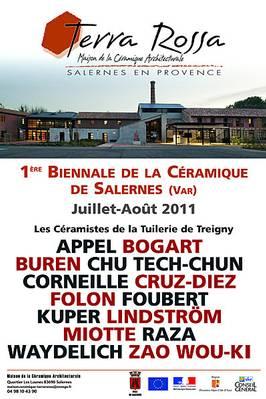 Jusqu'à fin août 2011 | Exposition Biennale Céramique à Salernes (83)