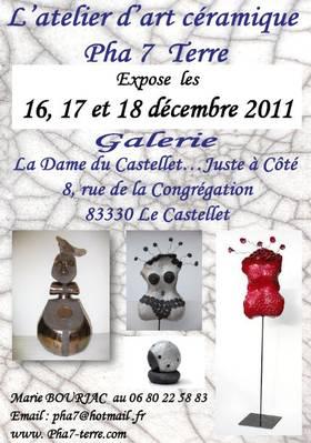 16 au 18 déc. 2011 | Exposition au Castellet (83)