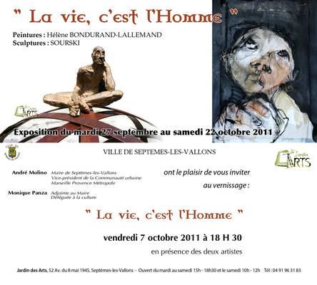 Jusqu'au 22 oct. 2011 | Exposition sculpture à Septèmes les Vallons