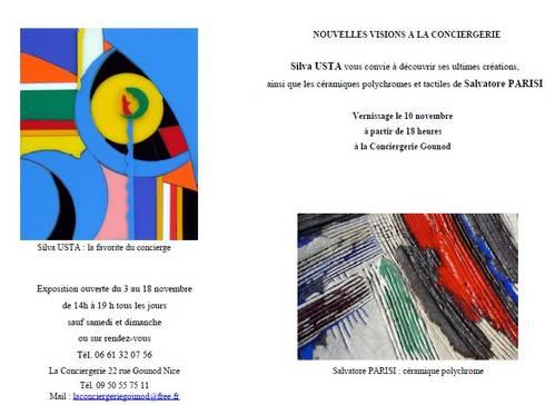 Jusqu'au 18 nov.2011  | Exposition à la Conciergerie Gounod à Nice