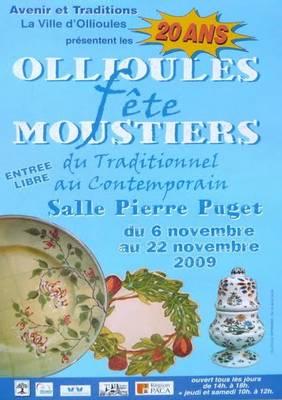 Exposition à Ollioules du 6 au 22 novembre 2009