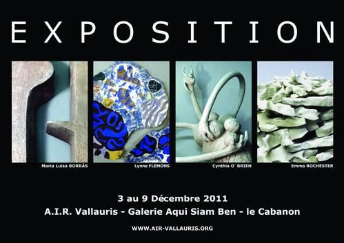 Du 3 au 9 déc. 2011 | Exposition céramique à Vallauris