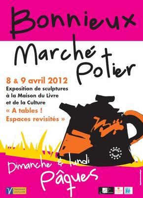 8 et 9 avril 2012 | Marché potier de Bonnieux