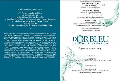 Du 13 mars au 12 mai 2012   Exposition l'Or Bleu à Marseille (13)