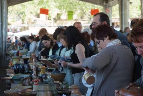1er mai 2012 | Braderie des potiers à Saint Quentin la Poterie (30)