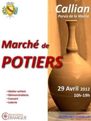 29 avril 2012 | Marché potiers de Caillan (83)