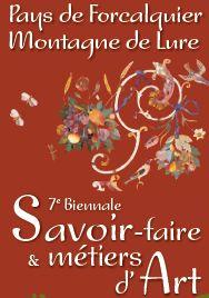 Du 31 mars au 1er avril 2012 | 7ème Biennale Savoir-faire & Métiers d'Art à Forcalquier (04)