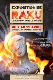 Du 7 au 29 avril 2012 | Festival de Raku à Sanary-sur-Mer (83)
