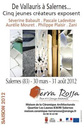 Du 30 mars au 31 août 2012 | Cinq jeunes créateurs exposent à Salernes (83)
