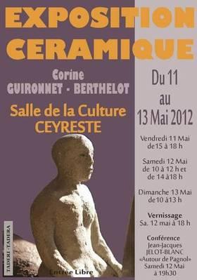 Du 11 au 13 mai 2012 | Exposition Céramique Corine Guironnet à Ceyreste
