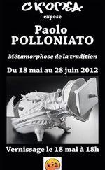 Du 18 mai au 22 juin 2012 | Exposition de Paolo Pollonito à Vallauris (06)