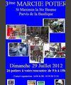29 juillet 2012 | Marché potier à Saint Maximim la Sainte Beaume (83)