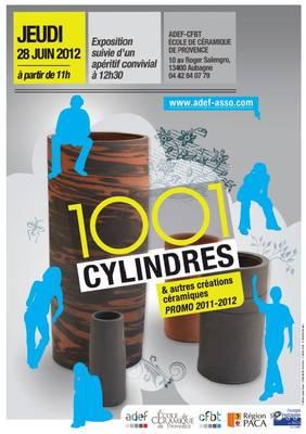 28 juin 2012 | Exposition 1001 Cylindres | Ecole de la Céramique de Provence à Aubagne (13)