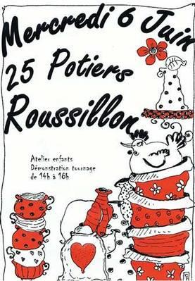 6 juin 2012   Marché potier de Roussillon (84)