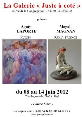 Du 8 au 14 juin 2012 | Exposition Magali Magnan
