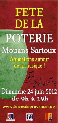 24 juin 2012 | Fête de la poterie à Mouans-Sartoux (06)