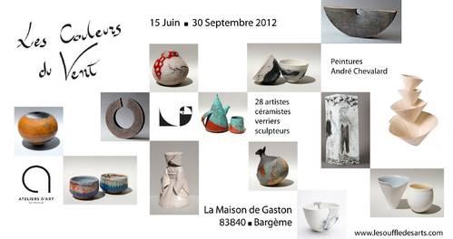 Du 15 juin au 30 sept. 2012   Exposition Les couleurs du Vent à Bargème (83)