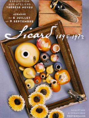 9 juillet au 9 sept. 2012   Exposition Sicard 1895 - 1972 à Aubagne