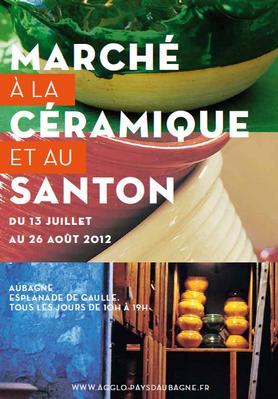 Du 13 juillet au 26 août 2012 | Marché à la céramique et au santon à Aubagne (13)