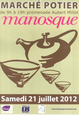 21 juillet 2012 | Marché potier de Manosque (04)
