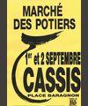 1er et 2 septembre 2012 | Marché potier de Cassis