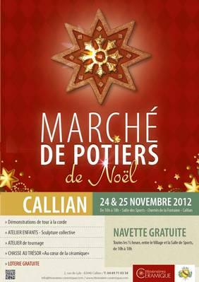 24 et 25 nov. 2012   Marché potier de Noël à Callian (83)