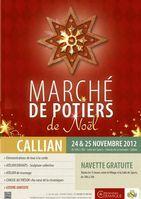24 et 25 nov. 2012 | Marché potier de Noël à Callian (83)
