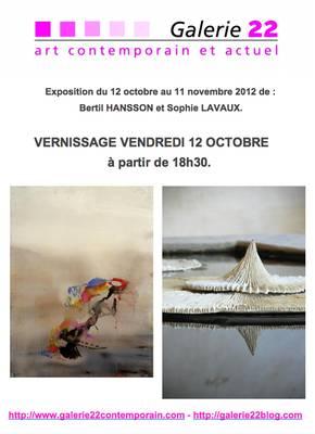 Du 12 oct au 11 nov 2012 | Exposition des création céramique de Sophie Lavaux à Coustellet