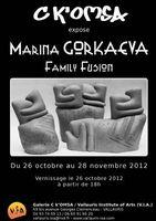 Du 26 oct au 28 nov 2012 | Exposition de Marina Gorkaeva à Vallauris (06)