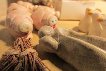 Les cochons de la ferme
