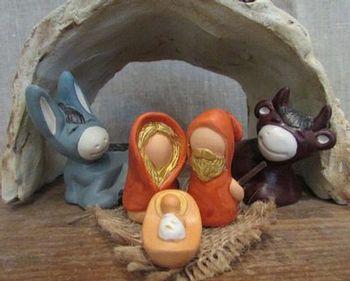 La Sainte famille - nativité