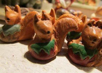Les écureuils