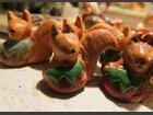 Les écureuils ATELIER AUTOUR DE LA TERRE - Fabricant à - Santons et Crèches