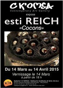 Exposition Esti Reich, du 14 mars au 14 avril 2015