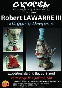 Exposition Robert Lawarre III, juillet/août 2014